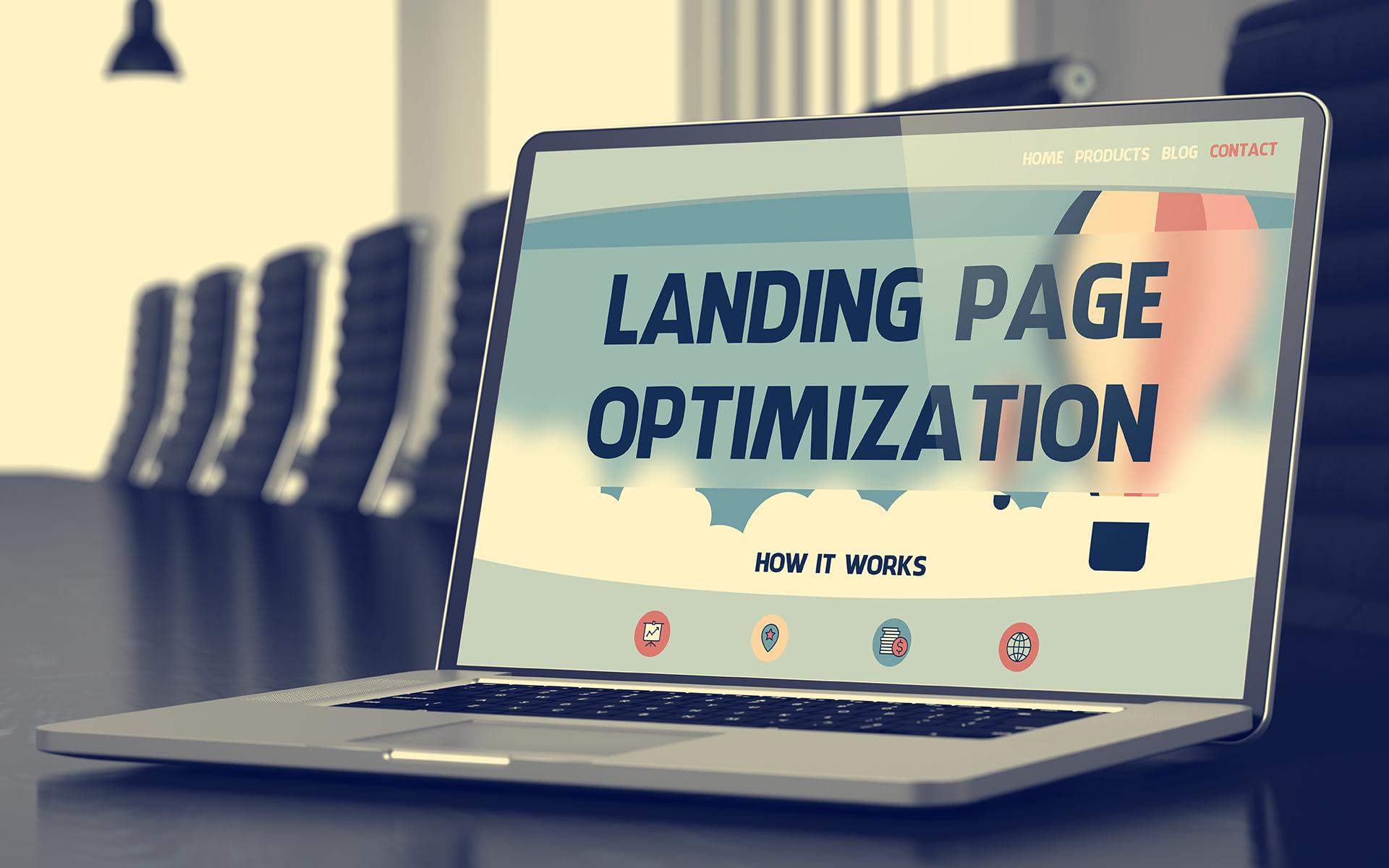 Landing page tervezés Győr